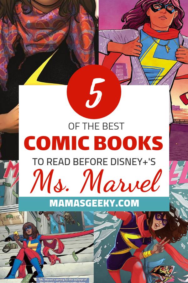 Ms. marvel Kamala Khan Comics