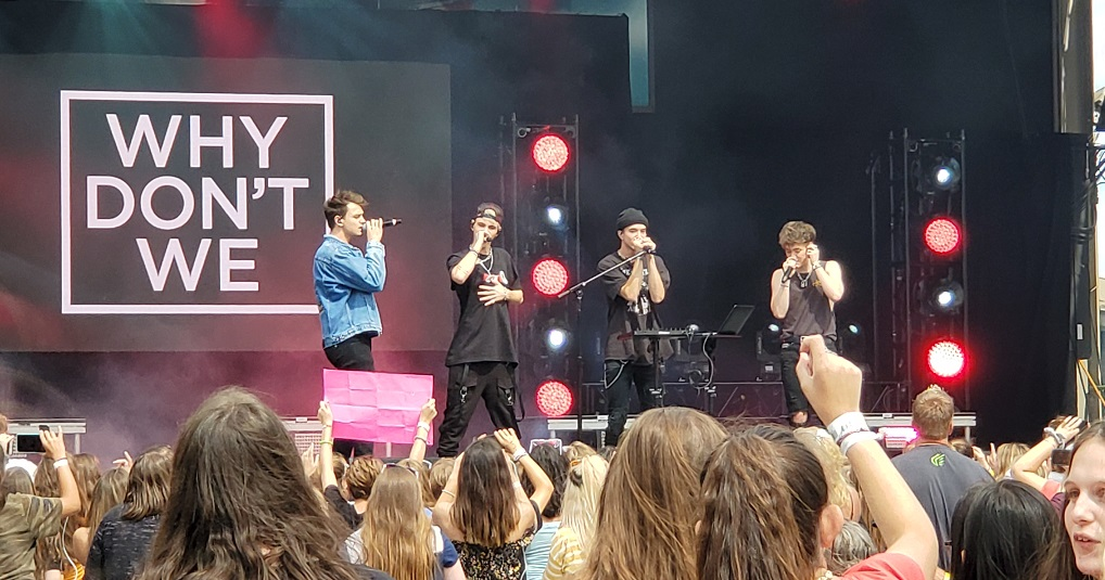 Why Don't We NYSF 8 Letters Tour 2019