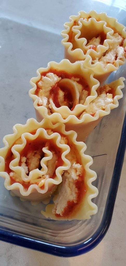 meatless monday lasagna roll ups recipe