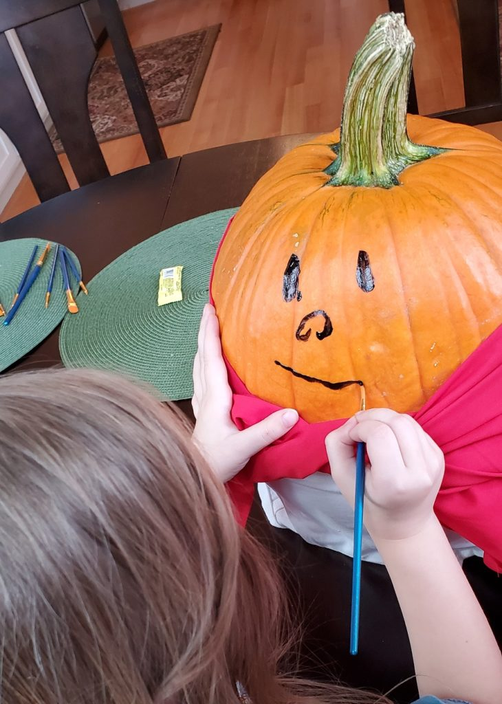 DIY Captain Underpants Pumpkin