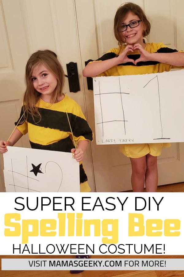 Spelling Bee Costume