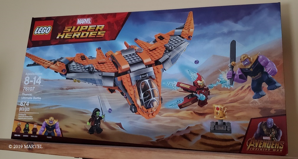 guardians of the galaxy LEGO set
