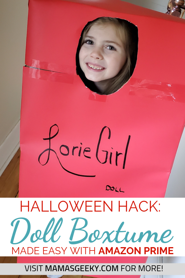 Halloween Hack Doll Costume Boxtume