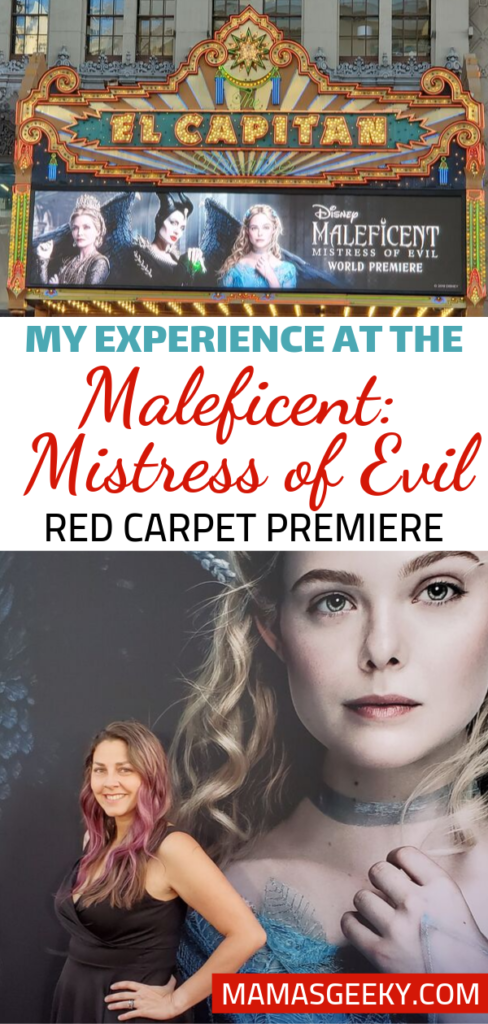 Maleficent Mistress of Evil Red Carpet Premiere