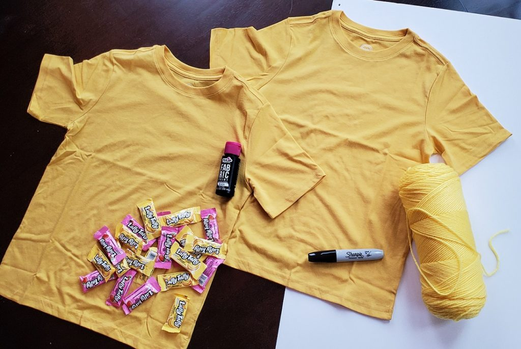 DIY Spelling Bee Costume Materials