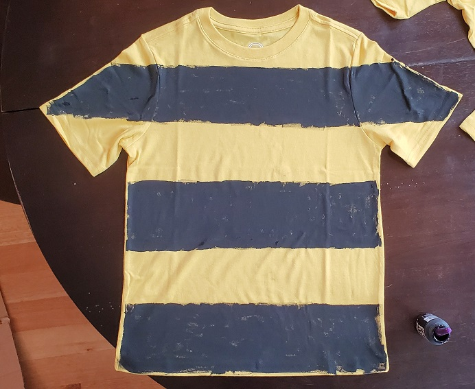 DIY Spelling Bee Costume Finished Shirt