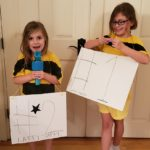 Super Easy DIY Spelling Bee Costume