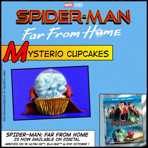 Spider-Man Mysterio Cupcake