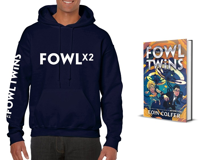 The Fowl twins Giveaway Prize Pack