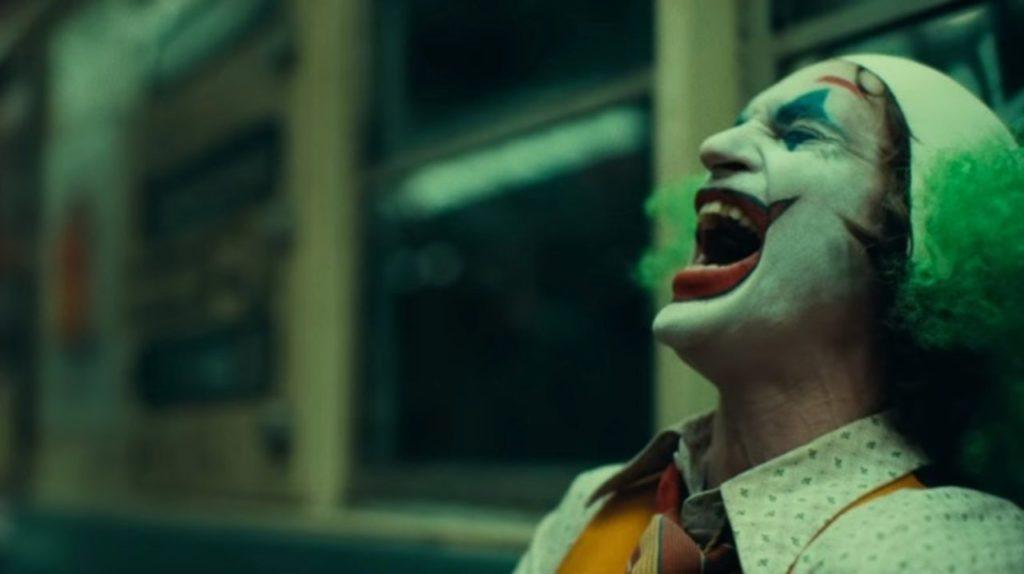 Joker on subway