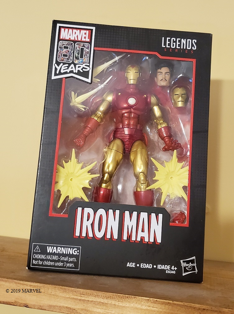 iron man marvel's 80th
