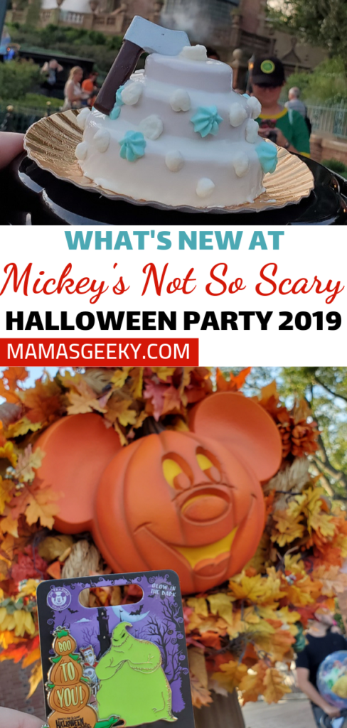 New at Mickey's Not So Scary Halloween Party 2019