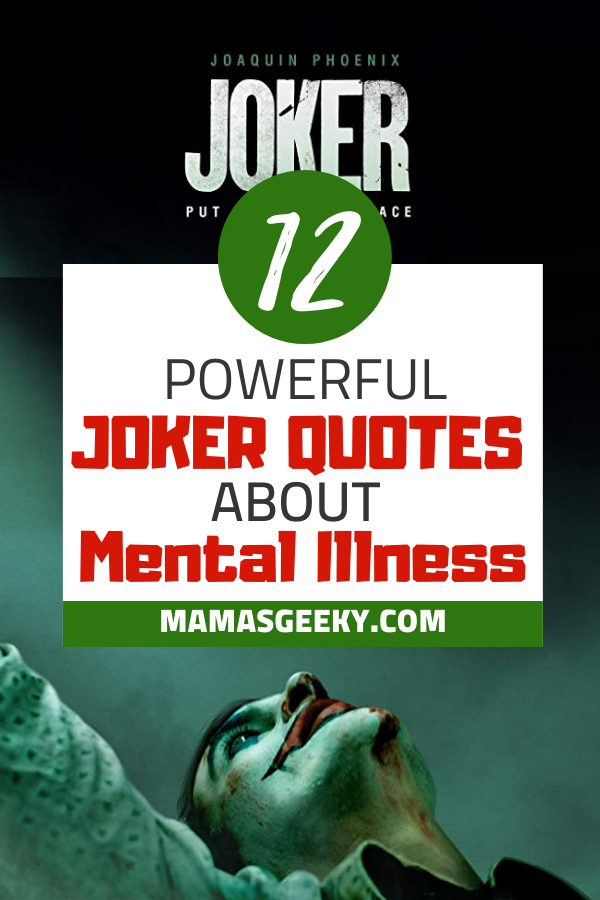 12 Intense & Poweful Joker Quotes About Mental Illness