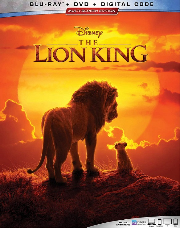 The Lion King live action blu-ray