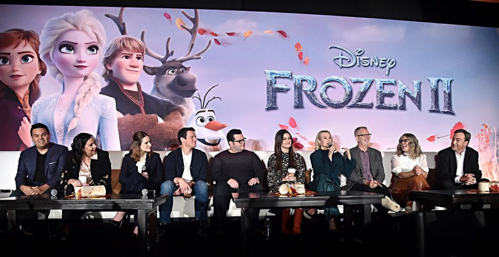 Frozen 2 press junket