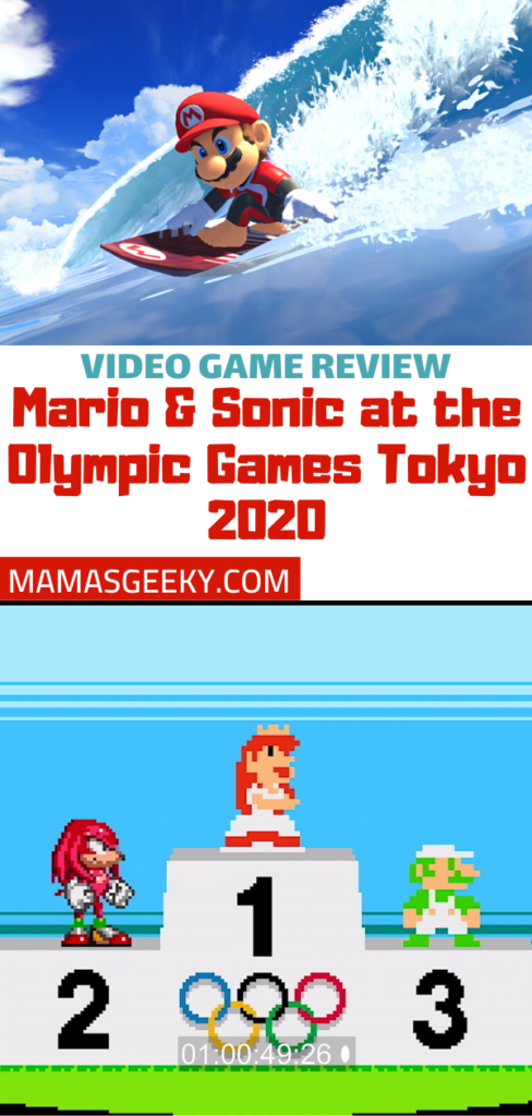 Mario & Sonic Olympic Games Tokyo 2020 switch review