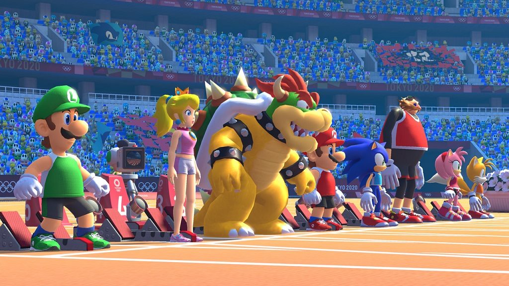 Mario & Sonic Olympic Games Tokyo 2020 switch