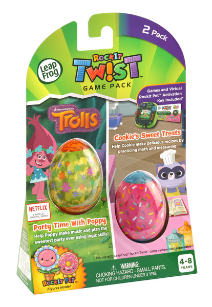 RockIt Twist2 Pack Trolls Party Time With Poppy and Cookie's Sweet Treats