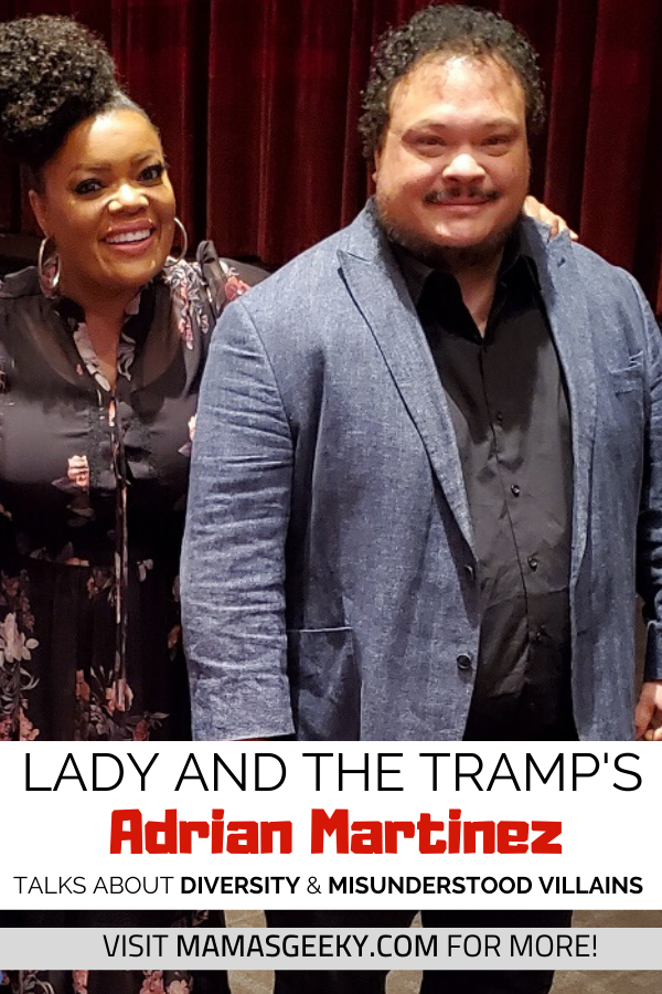 adrian martinez lady and the tramp interview