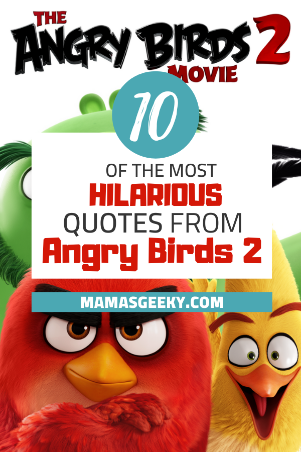 angry birds 2 quotes