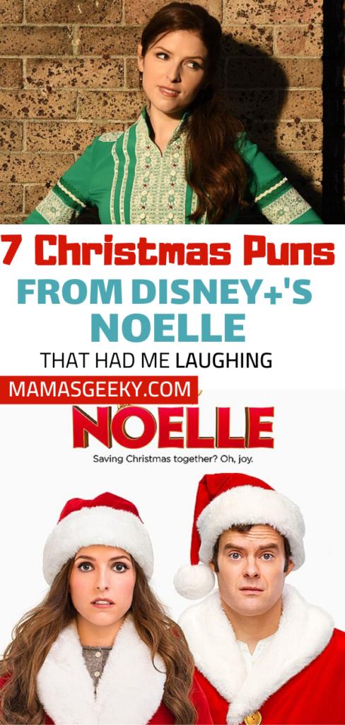 christmas puns in disney plus noelle