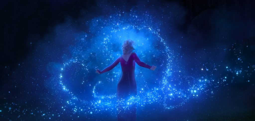 FROZEN 2 Elsa magic