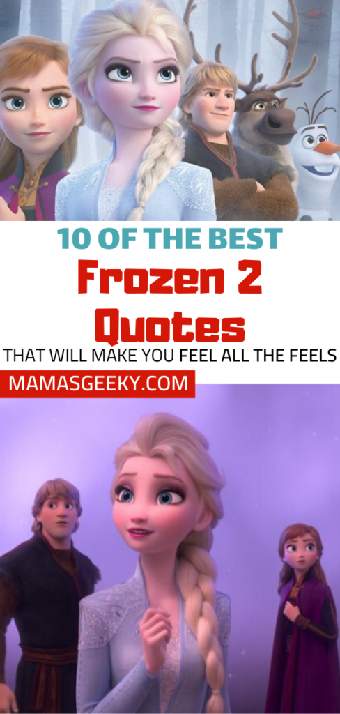 Brilliant 10 Of The Best Quotes From Disneys Frozen 2 Mamas Geeky Personalised Birthday Cards Paralily Jamesorg