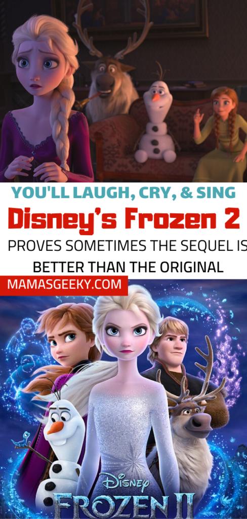 Frozen 2 spoiler free review