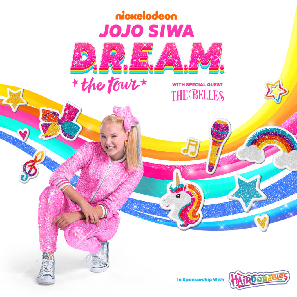 jojo siwa dream tour ticket giveaway