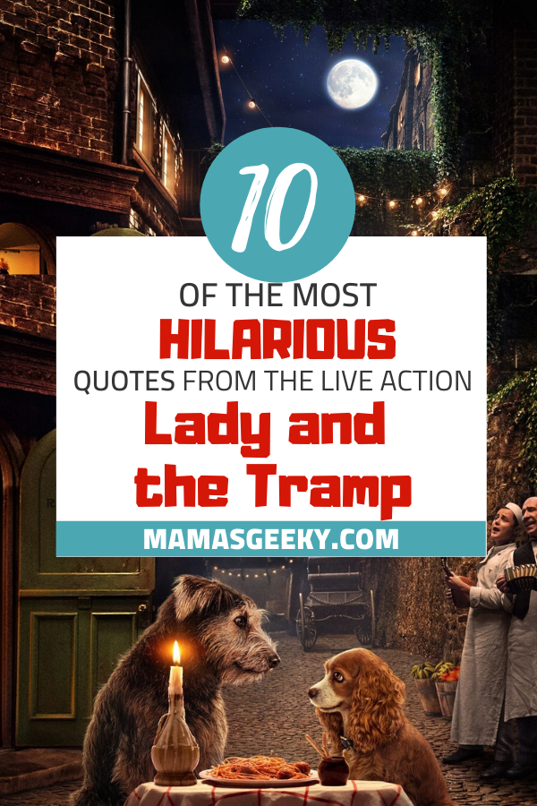 lady and the tramp quotes
