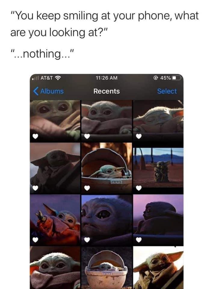 the mandalorian memes baby yoda