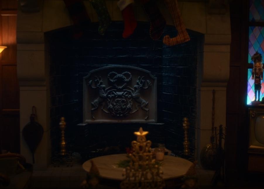 noelle hidden mickey fireplace