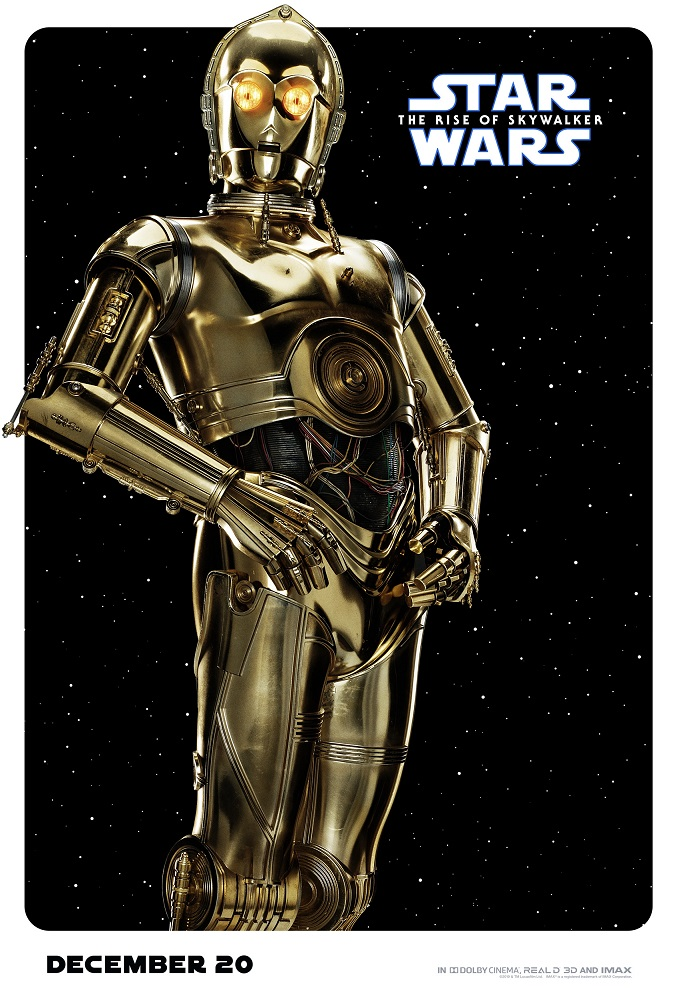the rise of skywalker poster c3po