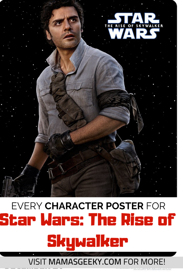 Star Wars The Rise Of Skywalker Character Posters