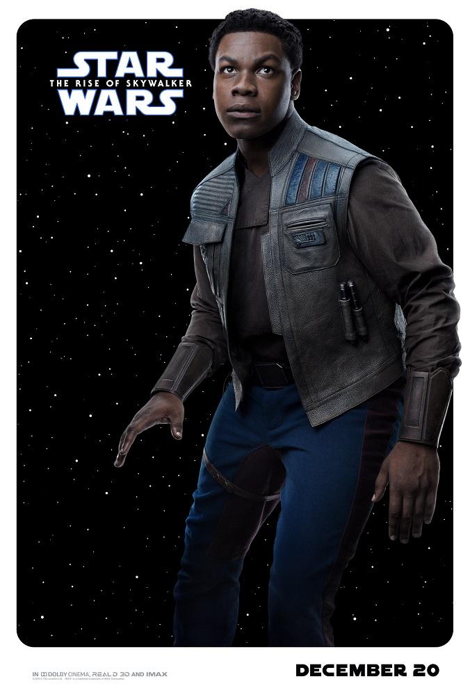 the rise of skywalker poster finn