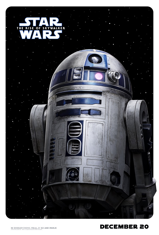 the rise of skywalker poster r2d2