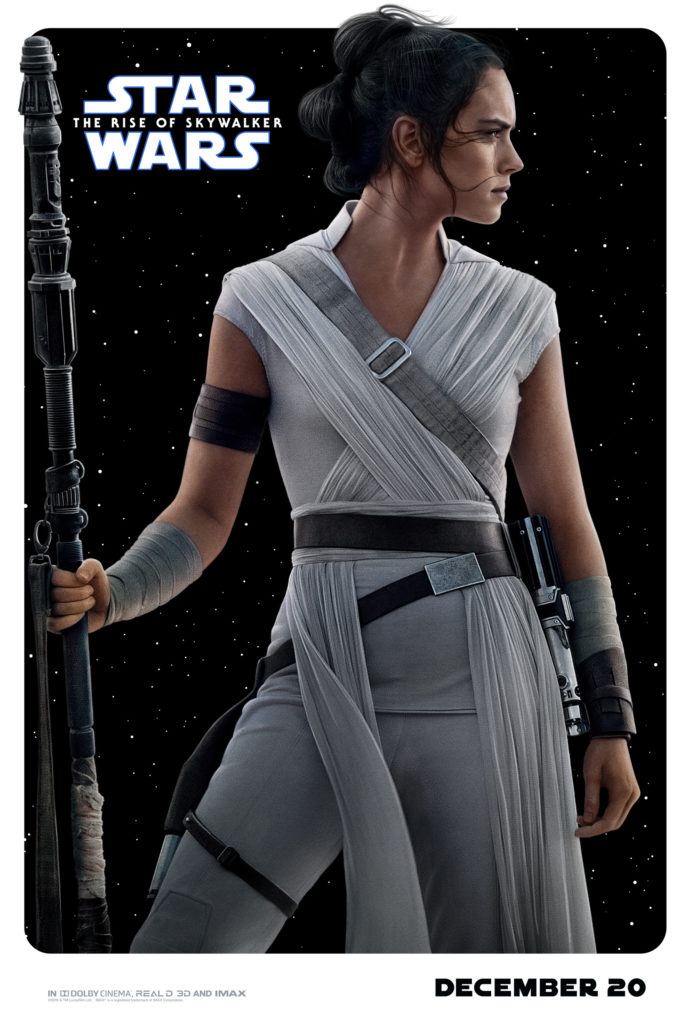 the rise of skywalker poster Rey