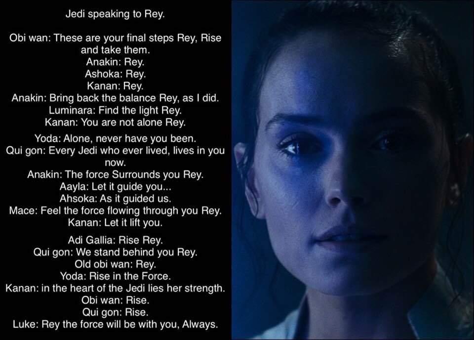 Jedi rise of skywalker