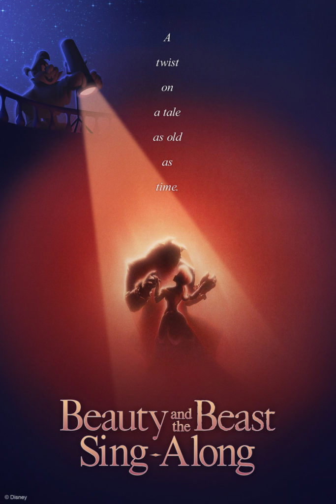 beauty and the beast sing along epcot