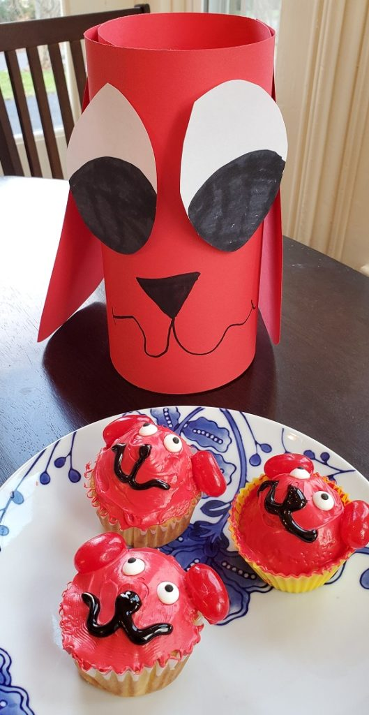 Clifford the Big Red Dog Cupcake Craft Party