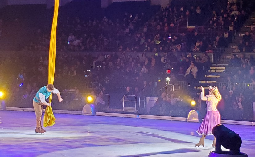 Tangled Disney On Ice presents Celebrate memories