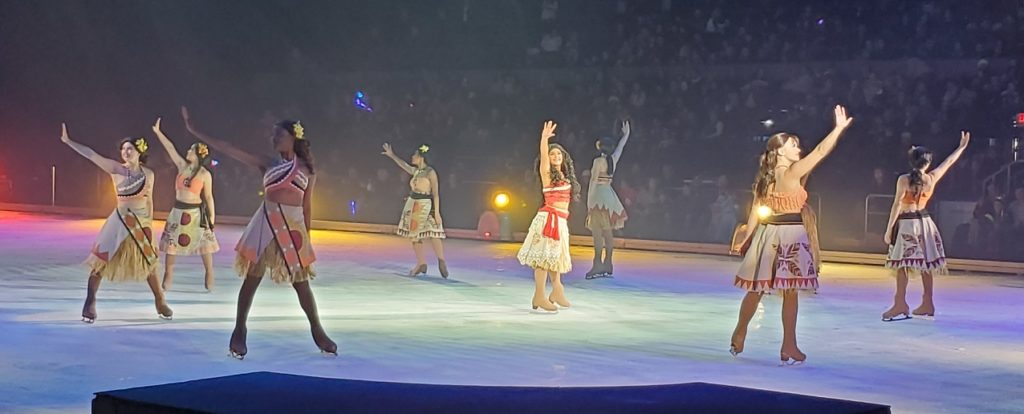 Moana Disney On Ice presents Celebrate memories