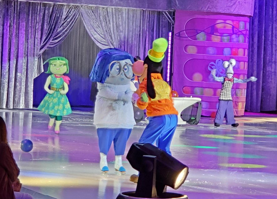 Inside Out Disney On Ice presents Celebrate memories