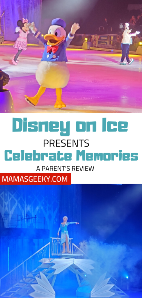Disney On Ice presents Celebrate memories review