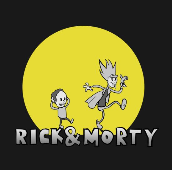 rick and morty shirt