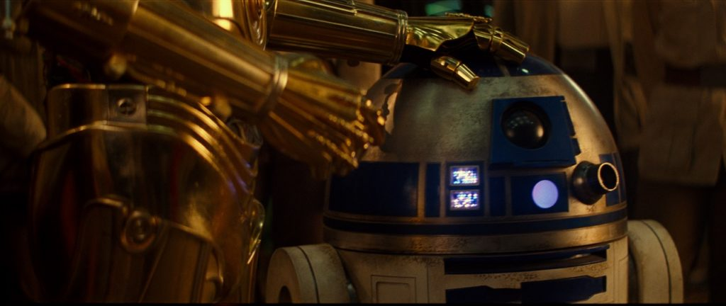 rise of skywalker R2-D2 with C-3PO