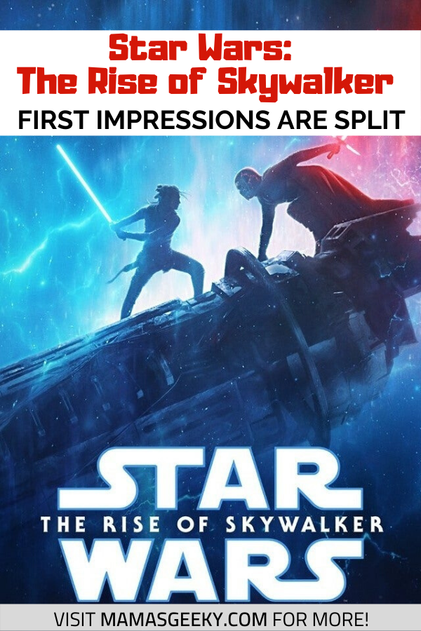 rise of skywalker star wars first impressions