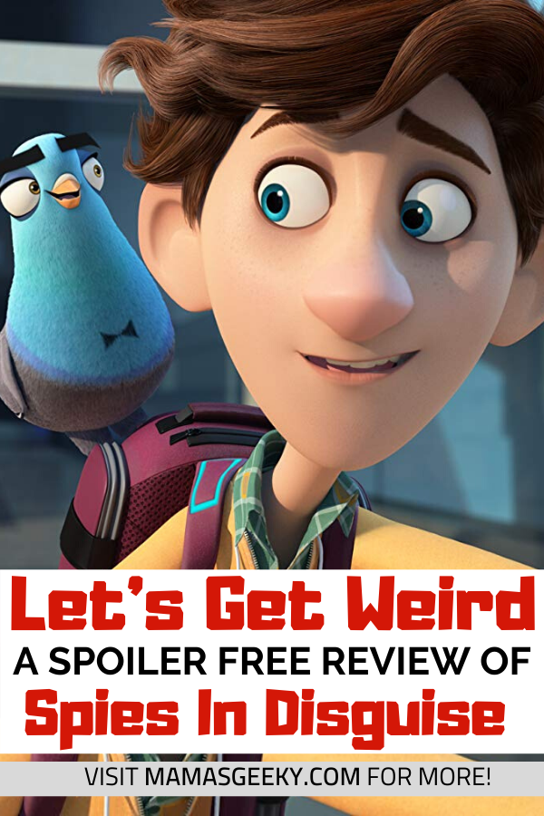 spies in disguise review