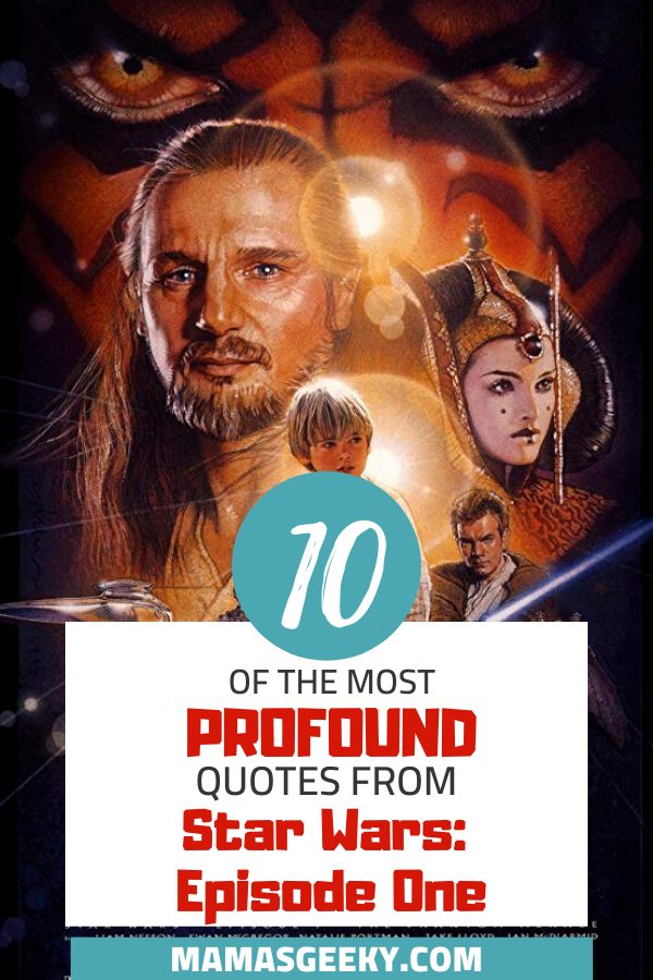 star wars episode one quotes