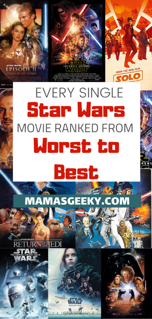star wars movies ranked